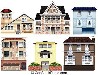 huisen, anders, ontwerpen