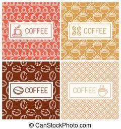 huisen, koffie, communie, ontwerp