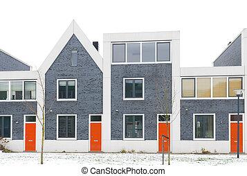 huisen, moderne