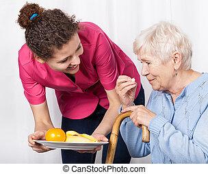 huishoudelijke hulp, dienst