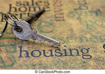 huisvesting, concept