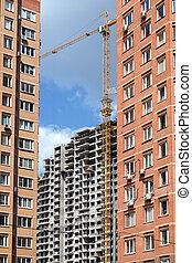 huizenbouw, activiteit