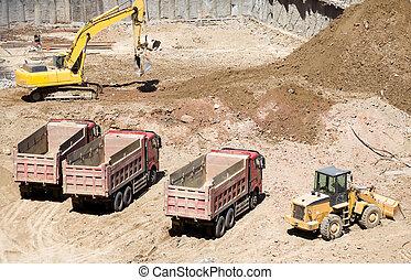 huizenbouw, bouwterrein