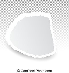 hul, print., transparent, lagen, baggrund, rive avis, væv, holes.