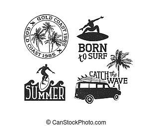 hullámtörés, nyár, állhatatos, élvez, idézőjelek, retro, idő