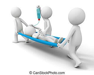 hulp, patiënt