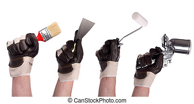 hulpmiddel 2, set, hand