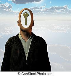 humain, clé