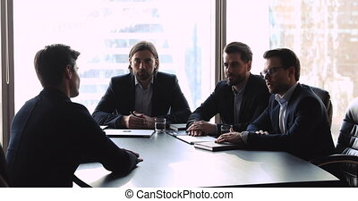 humain, confiant, gestion, applicant., tenue, ressources, entretien travail