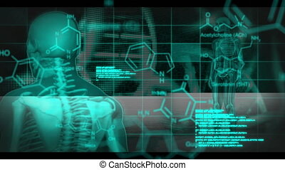 Human body, DNA and medical data