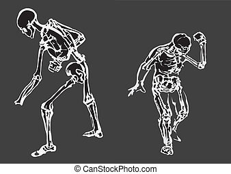 Human body made in eps Articulation - Articulation of a ...