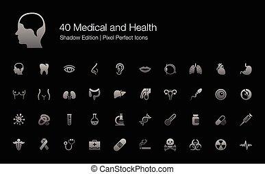 Human Body Organs Parts Icons