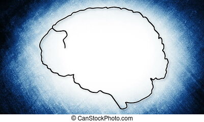 Human Brain 08 - The human brain structure animation...