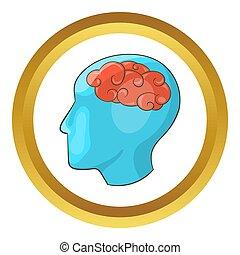 Human brain  icon
