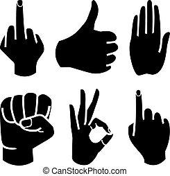 human, cobrança, mão