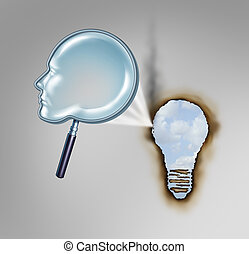 human, criatividade, conceito