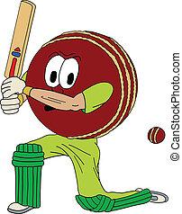 Human Cricket Ball