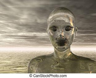 Human - Digital visualization of a human