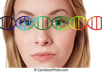 human genome editing concept