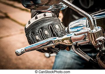 Motorcycle Racing Gloves