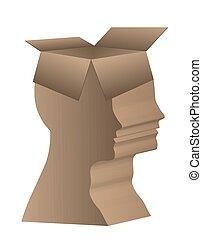 Human head box
