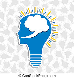 human head bulb