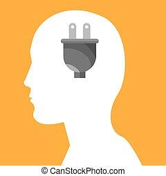 human head profile