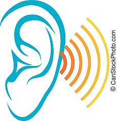 human hearing test (ear and sound)