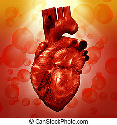 Human Heart. Abstract medical backgrounds for your design