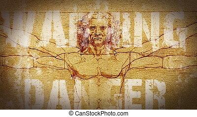 Human Leonardo - The man - a danger to himself