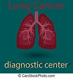 human lung emblem