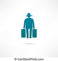 human migration icon