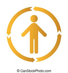human process icon