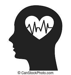 human profile healthcare icon