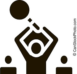 Human Research Icon Vector Glyph Illustration