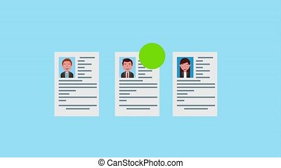 human resource recruitment curriculum people animation hd