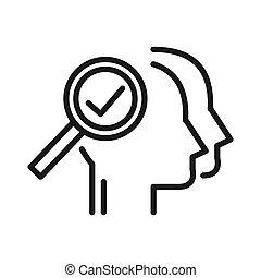 human resource selection illustration design