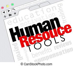Human Resource Tools Online Internet Website Training...