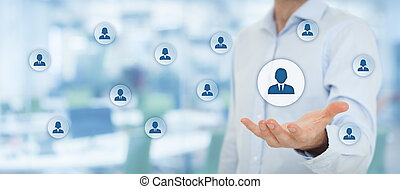 Human resources and customer care - Human resources pool, ...