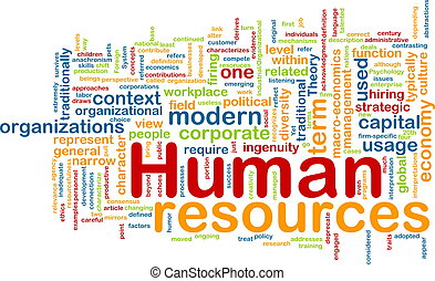 Human resources background concept - Background concept ...