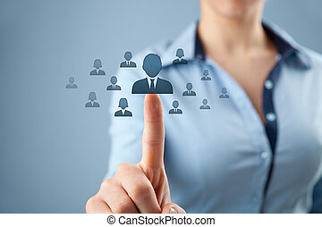 human resources, crm