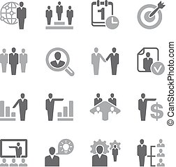 Human resources Icon Set