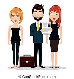 human resources man cv, women design