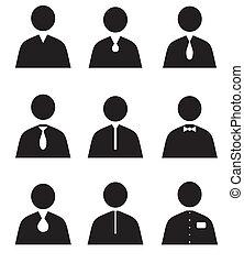 Human set icons