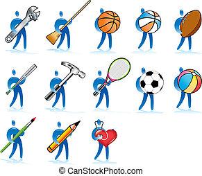 Human skills - Some diverse human activities