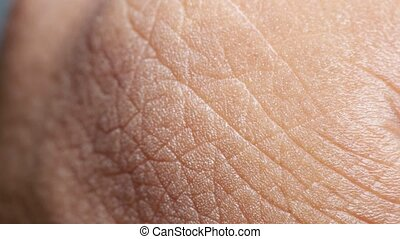 Close up of Human Skin Texture