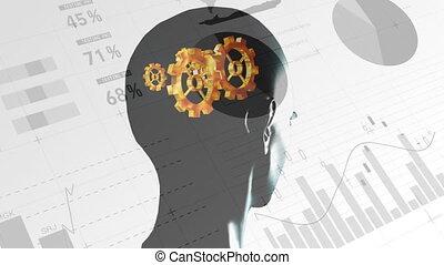 Human thought mechanism