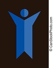 Human Vector Symbol