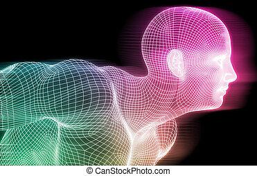 Human Wireframe
