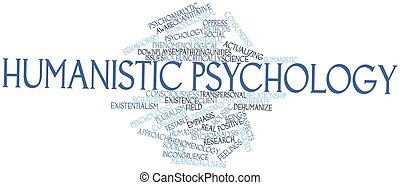Humanistic psychology - Abstract word cloud for Humanistic...